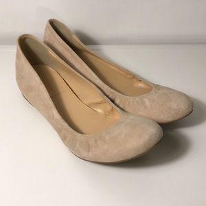 NWOT J.Crew Cece Ballet Flats - Cream -  Size 7